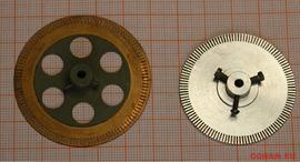 Щелевые диски для датчиков или валкодеров