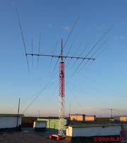 Трёхдиапазонный 3-3-5 КВ волновой канал SAY3-11